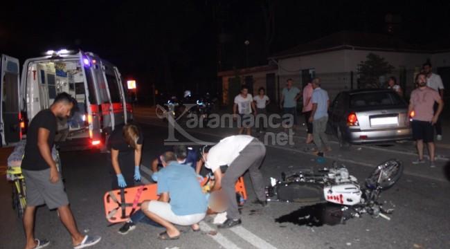 Ters şeride geçen motosiklet sürücüsü Hüseyin Akkurt öldü - ANTALYA -  Karamanca