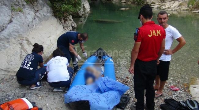 Ahmetler Kanyonuna giren Abdulmuttalip Şaşmaz öldü