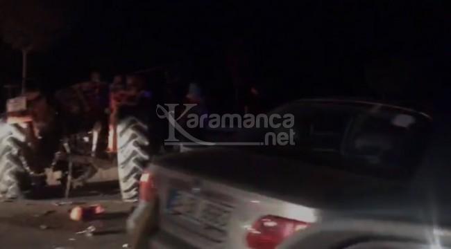 Römorka çarpan aracın sürücüsü Sinan Kuş öldü