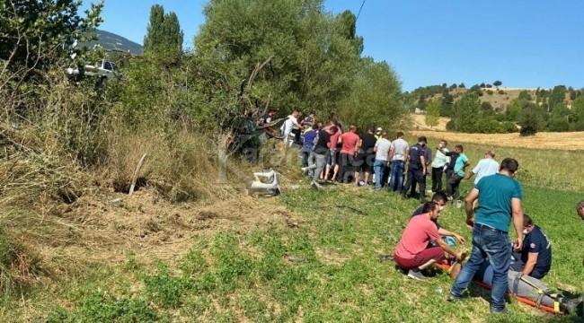 Tarlaya uçan araçtaki Ferhat Sakar öldü