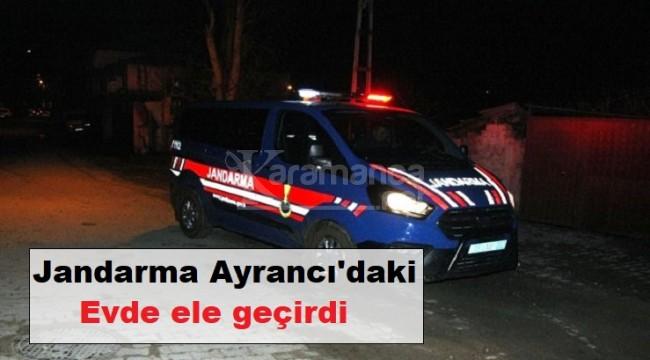 Ayrancı'da evini sahte içki imalathanesine çeviren şahıs yakalandı