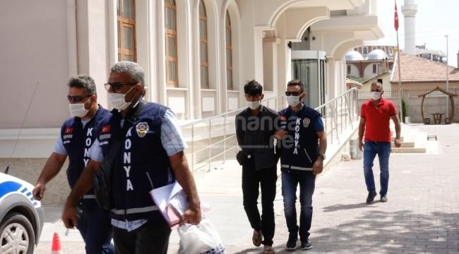 Cinsel taciz cinayetinin zanlısı Çumra'da yakalandı