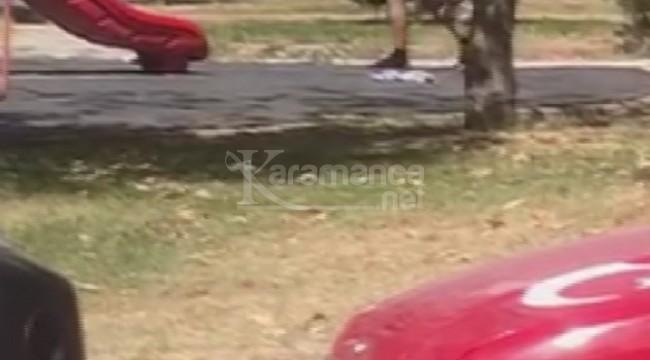 Çırılçıplak halde oyun parkında gezen adam mahalleliyi isyan ettirdi