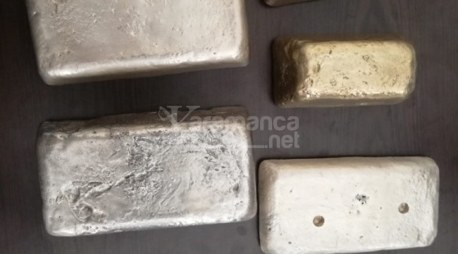 Demirden altın üretip satan şahıs yakalandı