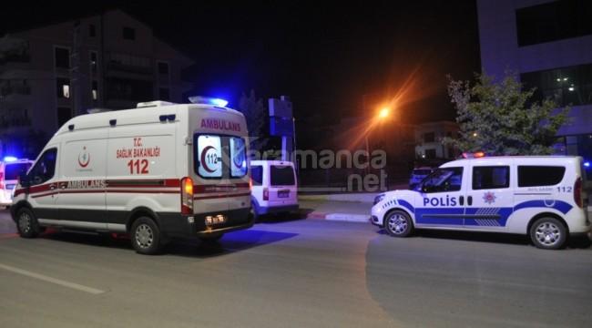 Eski karısını vurup yaralı halde Karaman'a getirdi