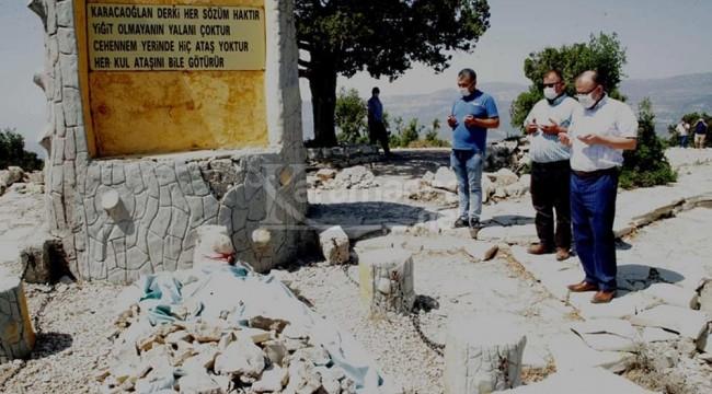 Karacaoğlan ve Karacakız'ın Mut'taki mezarları bakımdan geçirilecek