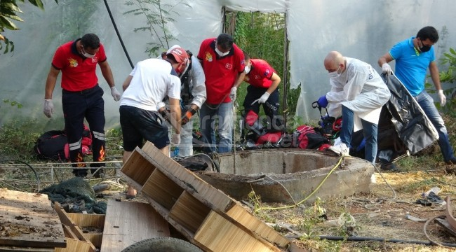 Kayıp esnafın cesedi Erdemli'deki su kuyusunda bulundu