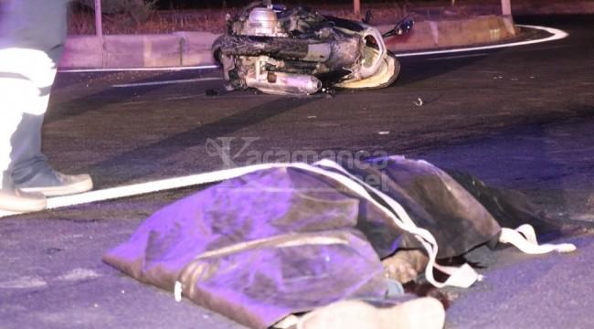 Kazada motosiklet sürücüsü Eşref Koçpınar öldü
