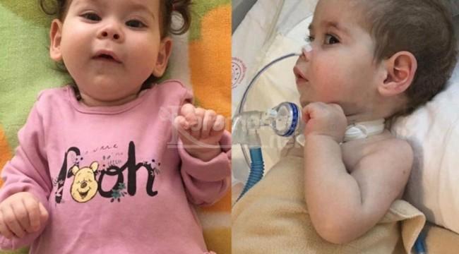 SMA hastası 1 yaşındaki Zeynep İnci yardım bekliyor
