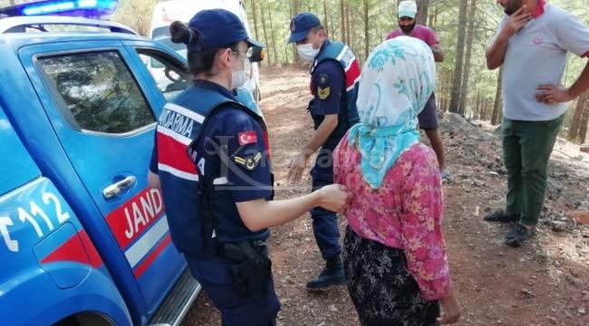 49 yaşındaki kadın 10 gün sonra ormanda bulundu