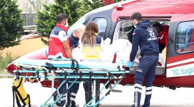 Bunalıma giren Konyalı kendini ateşe verince ağır yaralandı