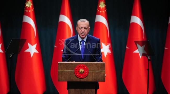 Cumhurbaşkanı Erdoğan iki sınıfın yüz yüze eğitim tarihini açıkladı