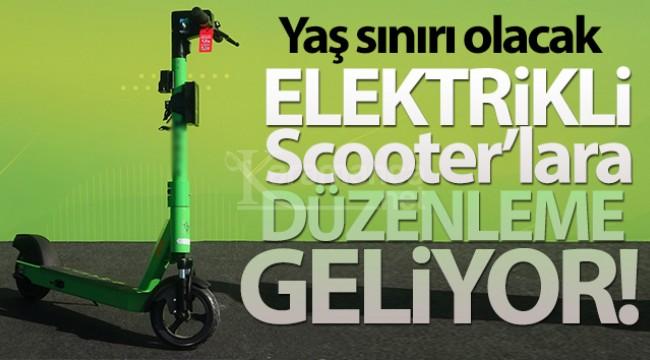 Elektrikli bisiklet ve scooterlara kullanma yaşı geliyor