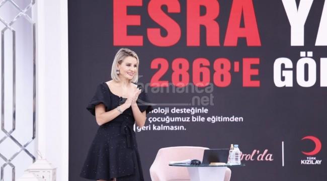 Esra Erol, destek projesini başlattı