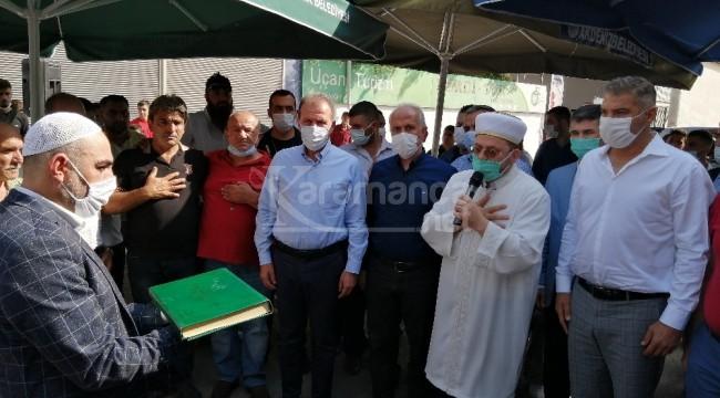 Hasım aileler Kur'an'a el basıp yemin ederek barıştı