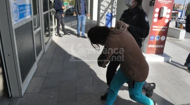Karaman'da adliyeye çıkartılan kadınlardan 1'i cezaevine gönderildi