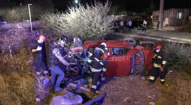 Konya'da 2 otomobilin karıştığı kazada 9 yaralı