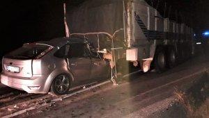 Pusan Köyü yakınındaki kazada Kamil Sirli öldü