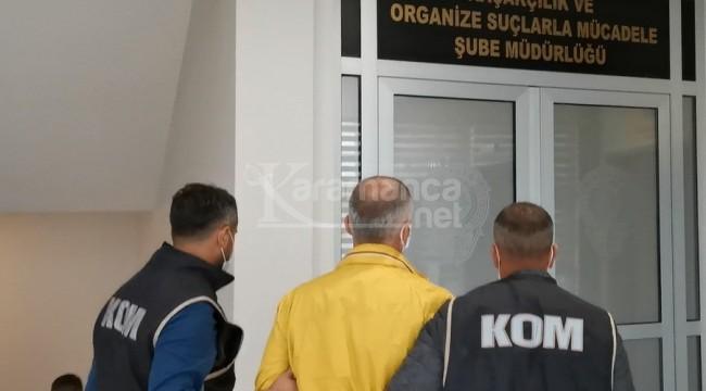 Karaman dahil birçok ilde aranıyordu, yakalandı