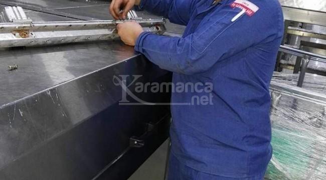 Karaman'daki bisküvi fabrikasında kaza geçiren işçi öldü