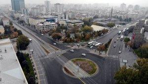 Kısıtlama yanlış anlaşılınca şehrin caddeleri boş kaldı