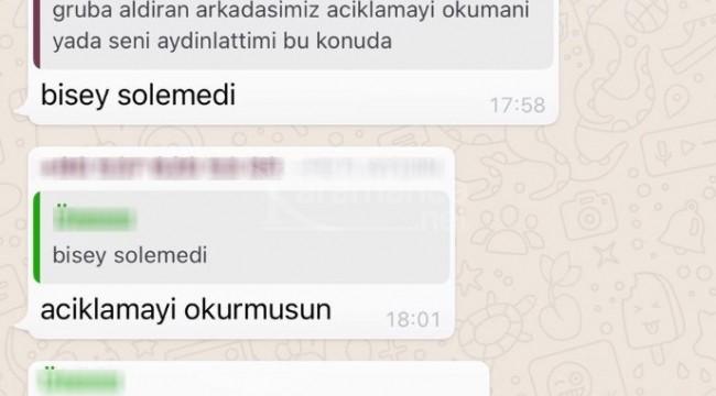 WhatsApp grubundaki 100 kişiye soruşturma