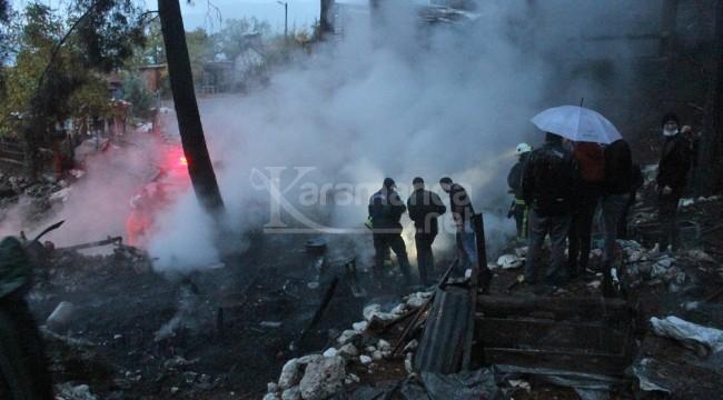 Yayladaki yangında Ümmü Gülsüm Duyan ve Mehmet Duyan öldü
