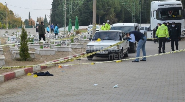 Mezarlıkta abisine ve yengesine kurşun yağdıran TIR şoförü gözaltında