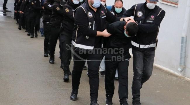 Çete lideri Murat Takak ile polisler cezaevine gönderildi