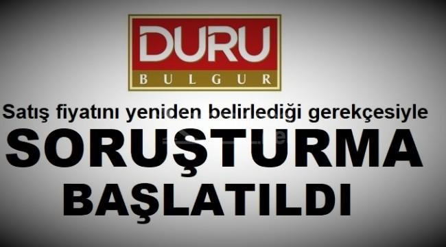 Duru Bulgur hakkında soruşturma başlatıldı