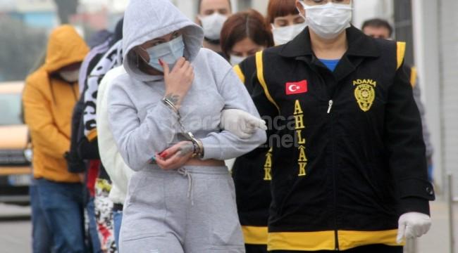 Geceliği 4 bin liraya fuhuş yapan kadın yakalandı