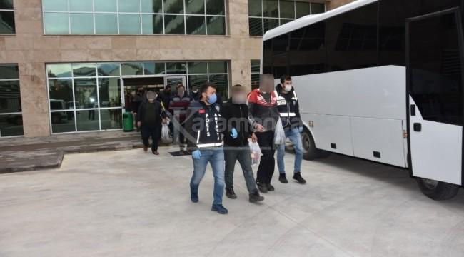 Antalya'daki büyük operasyonda 37 kişi yakalandı