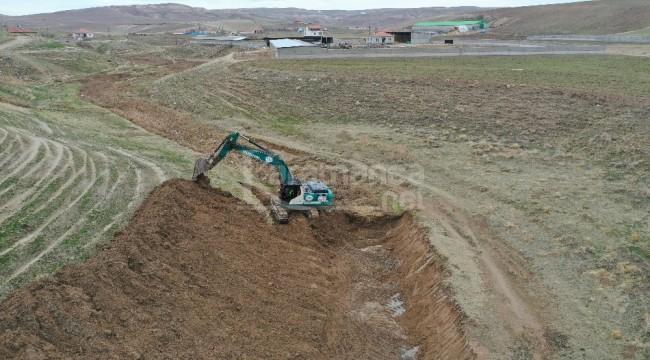 DSİ iş makinaları Konya, Karaman, Aksaray ve Niğde'de iş başında