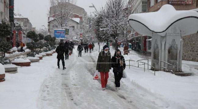 Eksi 29,7 dereceyle gecenin en soğuk şehri oldu