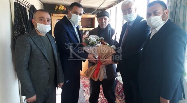 İl Başkanları şehit Metin Yiğittop'un ailesini ziyaret etti