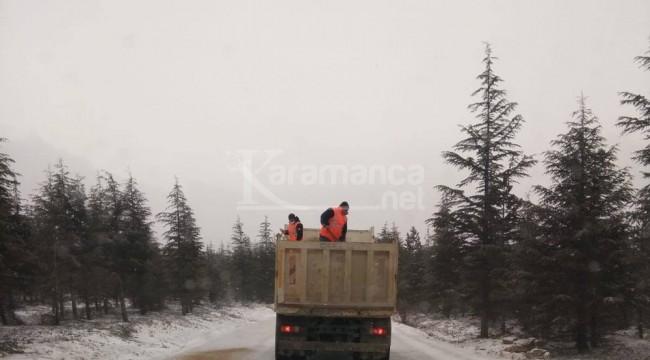 Sertavul'da ulaşım kontrollü sağlanıyor