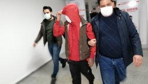 Aksaray'da operasyonla yakalanan firari şüpheli tutuklandı