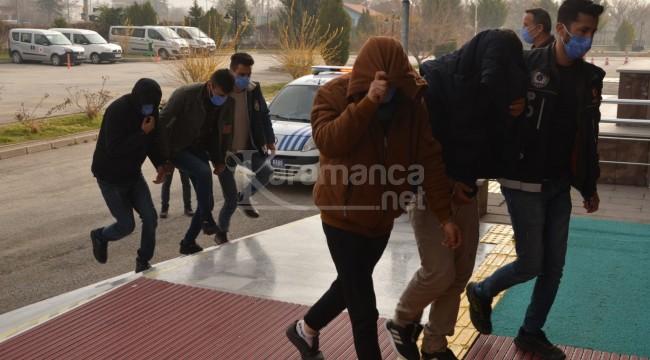 Ereğli'de gözaltına alınan 17 kişiden 12'si cezaevine gönderildi