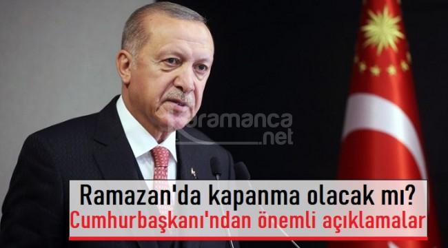 Kabine sonrası Cumhurbaşkanı Erdoğan'dan açıklamalar