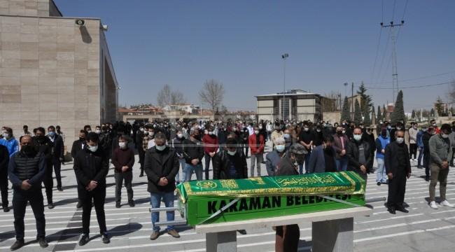 Karaman'daki motosiklet kazasında ölen genç toprağa verildi
