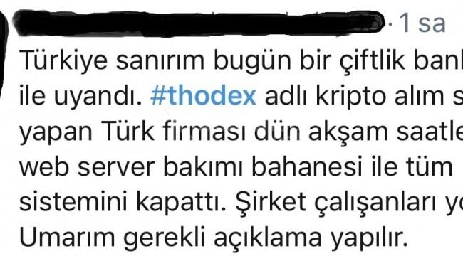 Thodex kripto para yatırımcıları tedirgin