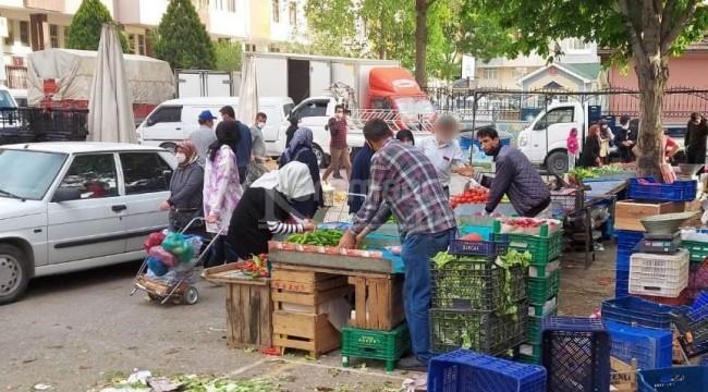 Yarım kilo biber vermeyen Konyalı pazarcıya zabıtadan uyarı