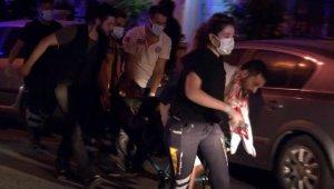 İkamete silahlı baskın 5 kişi yaralandı