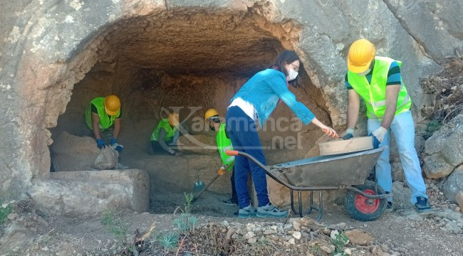 Karaman'daki üç antik kentte kazılar devam ediyor