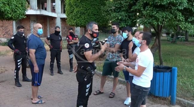 Muratpaşa Bayındır Parkı'nda kavga