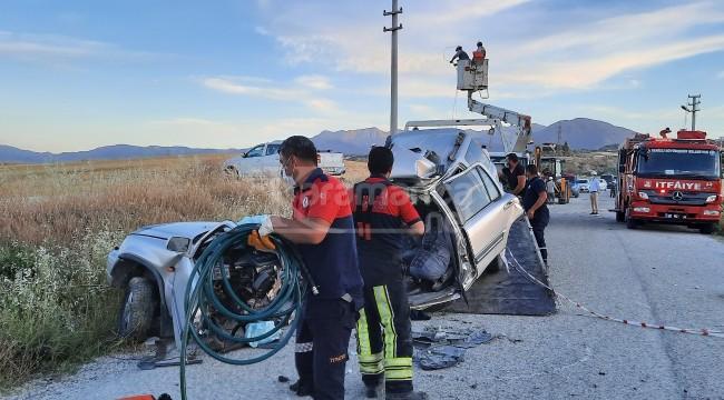 Şok kazada Orhan Yeşil ve Erkan Batum öldü