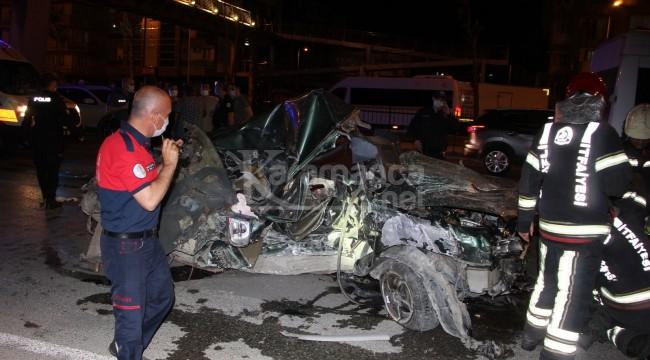Şok kazada sürücünün kimliği tespit edildi