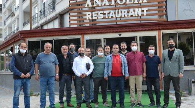 Anatolia Restaurant Gazeteciler Cemiyetini Ağırladı