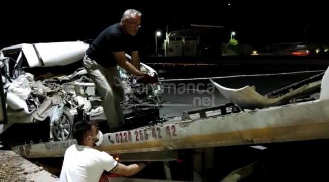 Araç içinde sıkışan Tayfun Şengönül öldü
