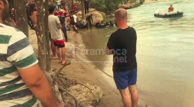 Irmağa giren Ömer Güzel Şahin öldü